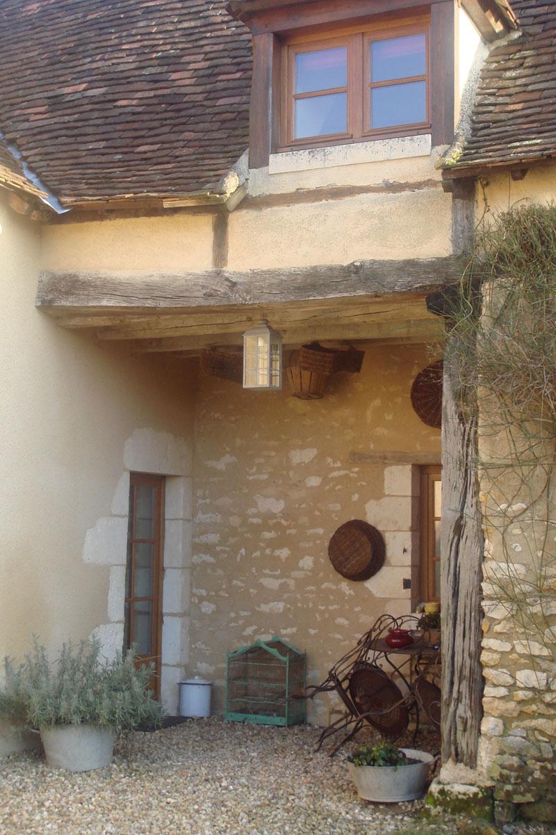 Enduit à La Chaux Grasse: